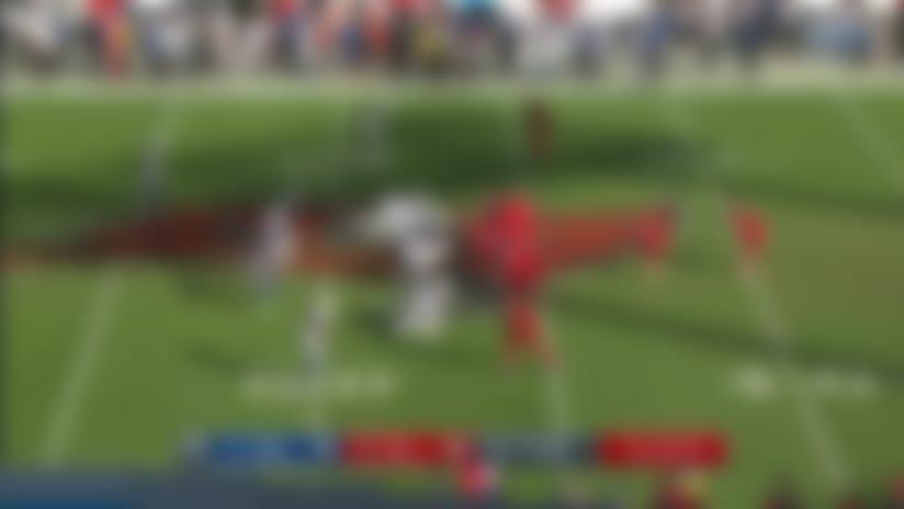 Winston finds O.J. Howard down the sideline for 27 yards