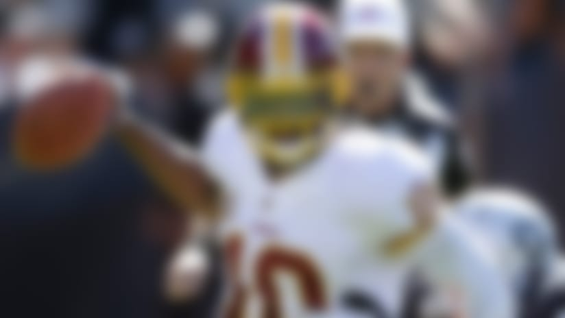 RGIII leads Washington Redskins over Oakland Raiders for first win