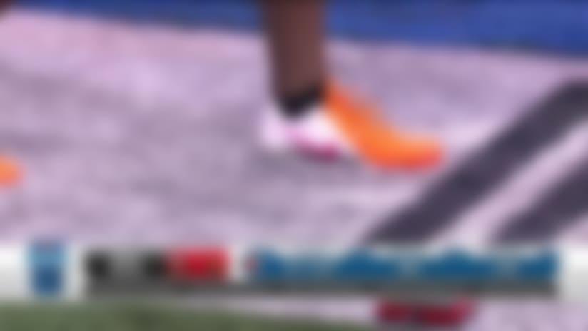 Louisville Cardinals offensive lineman Mekhi Becton's 2020 NFL Scouting Combine workout