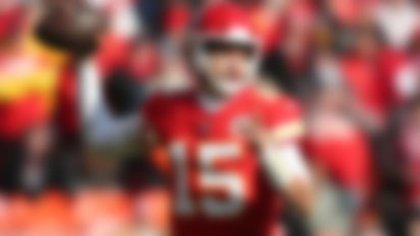 Kansas City Chiefs quarterback Patrick Mahomes (15) throws the ball during an NFL football game against the Baltimore Ravens, Sunday, Dec. 9, 2018 in Kansas City, Mo. (Ben Liebenberg via AP)