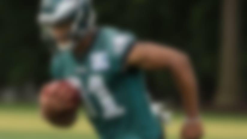 Jordan Matthews (knee) returns to practice field