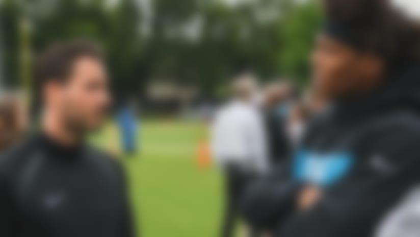 Bundesliga GK Roman Bürki visits Newton, Panthers
