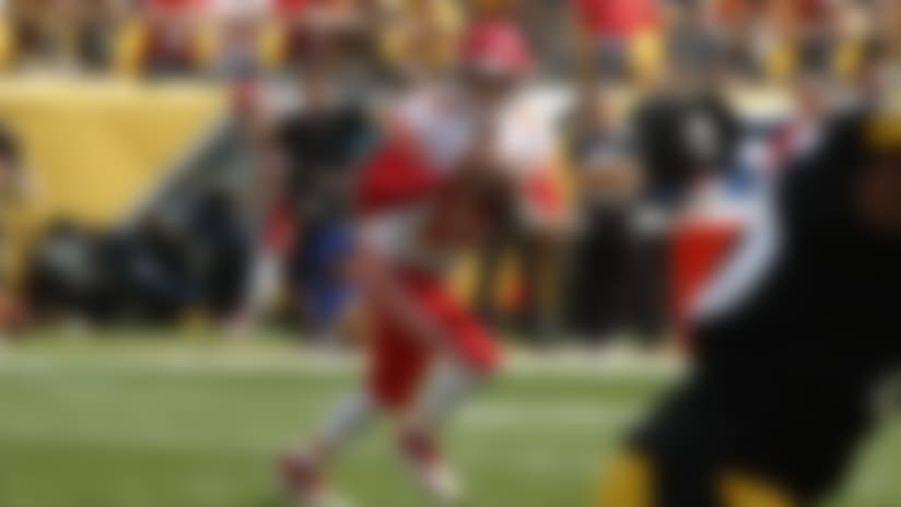 of an NFL football game, Sunday, Sept. 16, 2018, in Pittsburgh. (AP Photo/Gene J. Puskar)