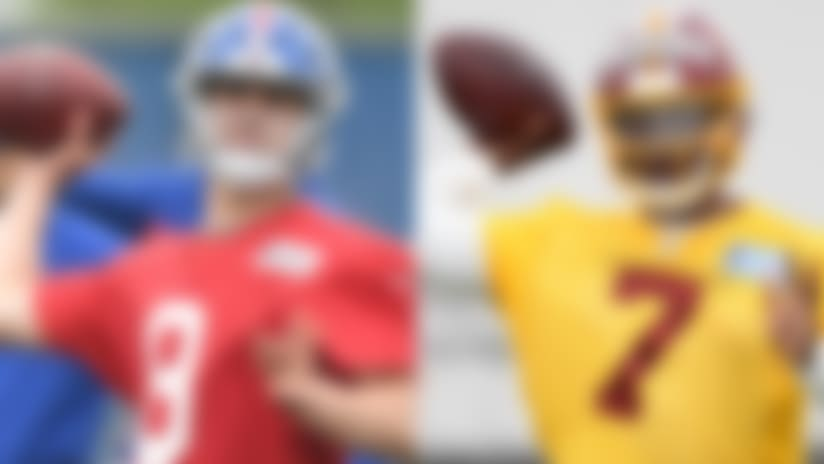 NFC East projected starters: First-round QBs must bide their time