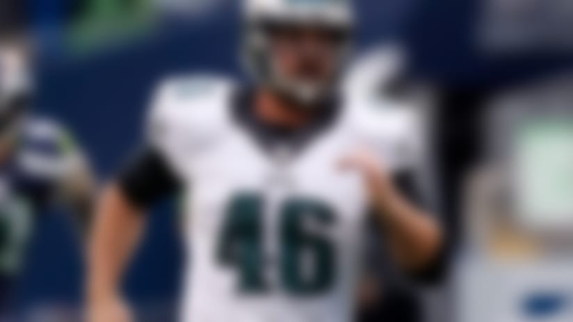 Eagles trade LS Jon Dorenbos to Saints for draft pick