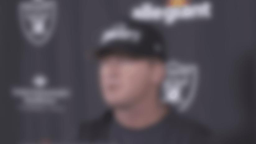 Jon Gruden reacts to not having fans in Allegiant Stadium in 2020