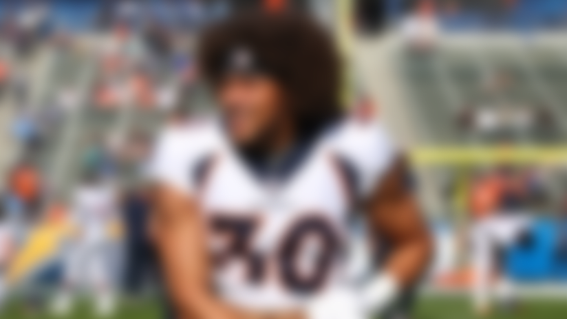 Phillip Lindsay is moving out of his parents' house