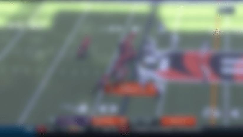 Tyus Bowser turns Patrick Ricard's monstrous strip-sack into 34-yard TD