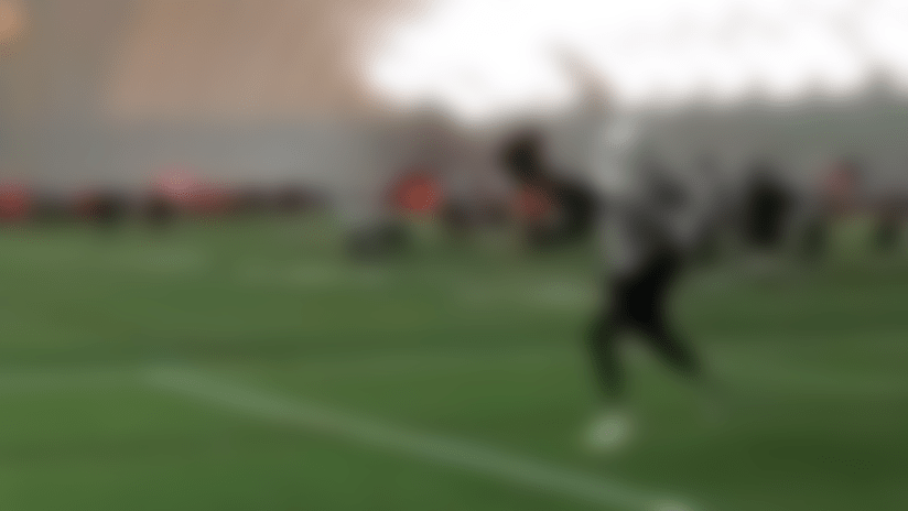 Best catch of training camps? Preston Williams may have it