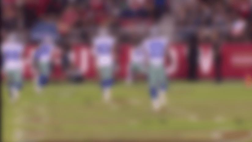 Jalen Hurd contorts for TD catch No. 2 in preseason debut