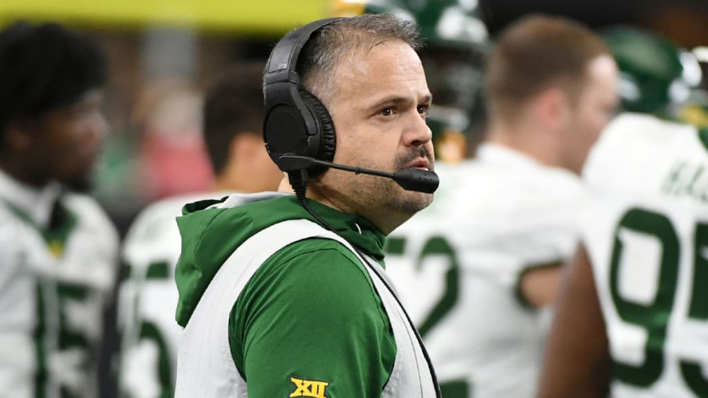Panthers Hire Baylor S Matt Rhule As Head Coach
