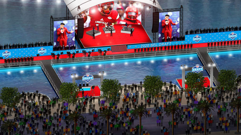 Nfl Announces Locations Of 2020 Draft Events In Vegas