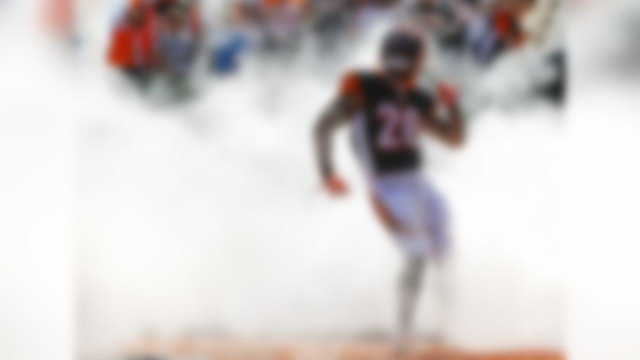 Cincinnati Bengals running back Joe Mixon takes the field before an NFL football game against the Jacksonville Jaguars, Sunday, Oct. 20, 2019, in Cincinnati.
