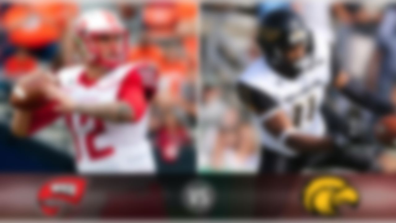 Details:  Saturday, Noon ET, ESPN2 (at Houchens Industries–L. T. Smith Stadium, Bowling Green, Ky.) What's at stake? Two of the most productive quarterbacks in the country, WKU's Brandon Doughty and Southern Miss' Nick Mullens, vie for the C-USA league title. Matchup to watch:  Western Kentucky QB Brandon Doughty vs. Southern Miss DB Kalan Reed. Game picks:  Brandt: Western Kentucky, 41-38 Brooks: Western Kentucky, 20-17 Davis: Western Kentucky, 50-44 Goodbread: Western Kentucky, 45-41 Jeremiah: Western Kentucky, 34-24 Reuter: Western Kentucky, 42-28 Zierlein: Western Kentucky, 45-39