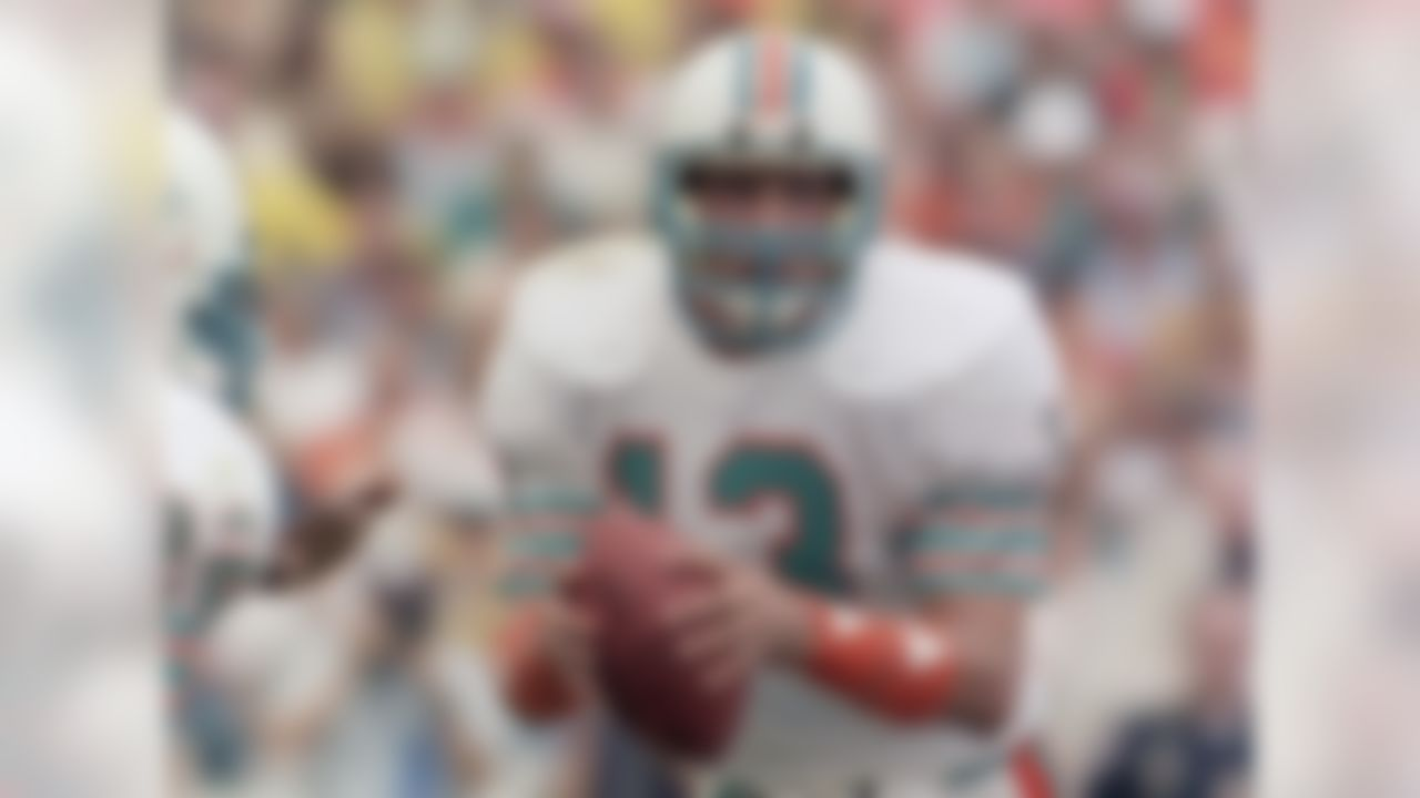Marino heads up our All-Time All-Rookie Team by virtue of his stellar performance in '83. After taking over in Week 6 for David Woodley, Marino led Miami to the playoffs and finished with the highest passer rating in the AFC (96.0 -- extremely high for the era, particularly for a rookie). He threw 20 touchdown passes against just six interceptions.Toughest competition: Sammy Baugh, Bob Waterfield, Otto Graham, Ben Roethlisberger, Matt Ryan, Russell Wilson.