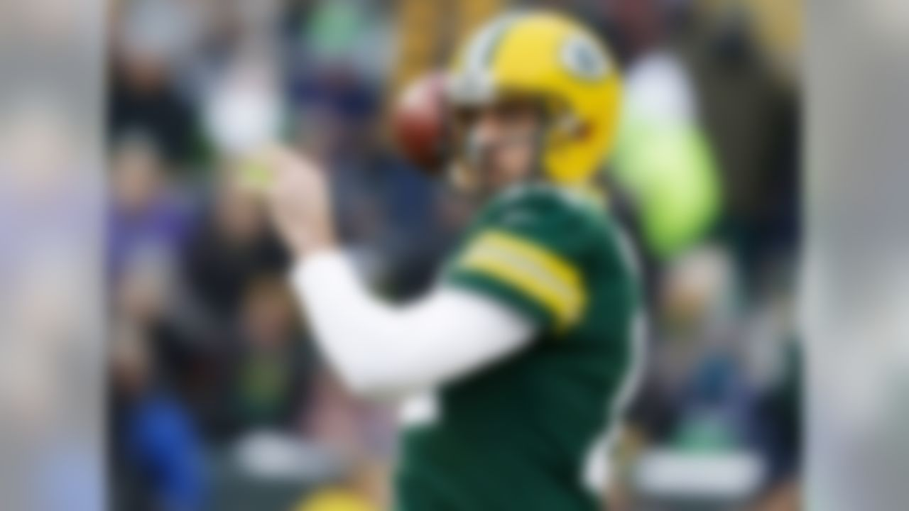 1.       Aaron Rodgers, QB, Green Bay Packers