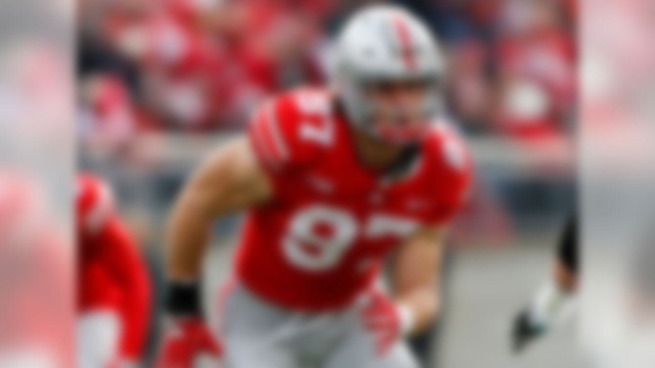 Bosa's been a force for the Buckeyes this year and will need to take over a leadership role in 2018 with the departure of senior ends Tyquan Lewis and Jalyn Holmes. Bosa has power, quickness, and a non-stop motor. He'll be fun to watch -- unless you're trying to block him.