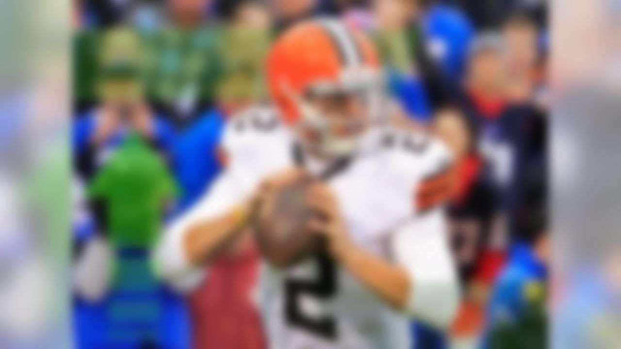Well, the moment most of the football world has been waiting for has arrived: Manziel is starting on Sunday. He'll face a tough test against a stingy Bengals pass defense that has only allowed 13.44 fantasy points per game to opposing quarterbacks over the last month. However, they've been gashed on the ground, which is where most of Manziel's fantasy appeal comes from. I'm not trusting him in the fantasy playoffs, but I'm definitely taking a stab with him in daily leagues.
