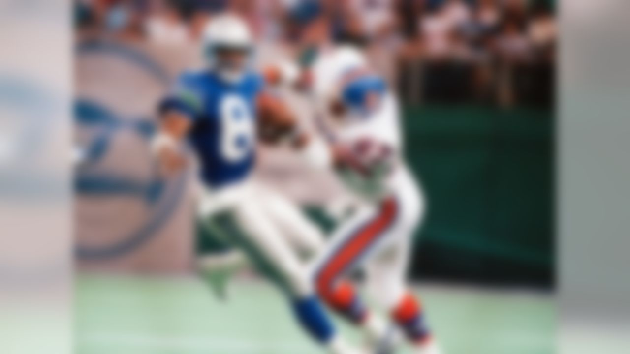 """Let's get straight to the pudding on this deal: Atwater is one of the hardest hitters to ever play the safety position, which is the sole reason he's on this list. Yes, he earned eight Pro Bowl selections, and the two Super Bowl rings toward the end of his career were nice additives. However, Atwater was at his best early, in 1989 and the early '90s. Unfortunately, what the former All-Pro safety doesn't have is numbers -- 24 interceptions is a career total that just doesn't compare to, say, Darren Sharper's 63. Tell you what, though: Atwater's hit on Christian Okoye on """"Monday Night Football"""" remains legendary. Hall probability: Slim to none."""