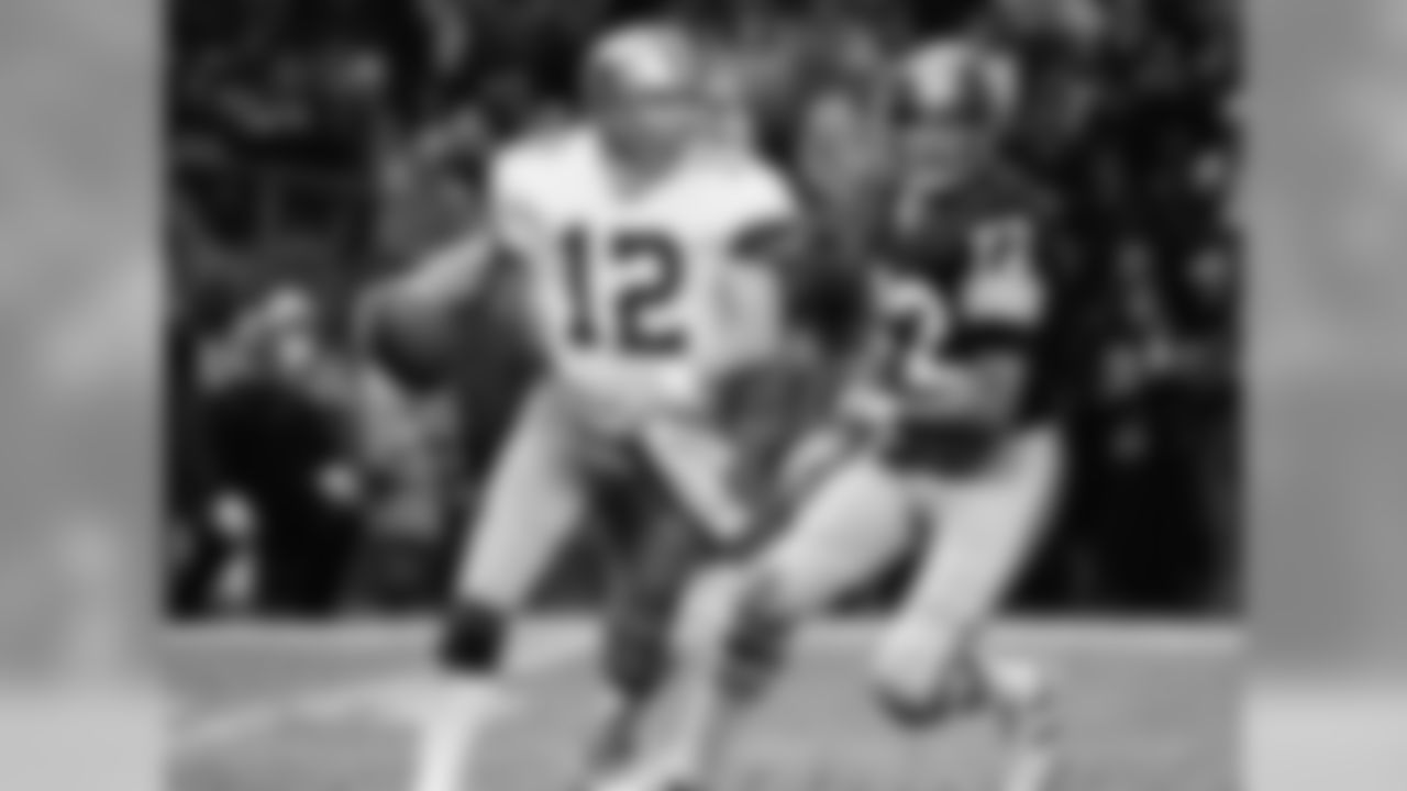 """Often referred to as """"Captain America,"""" Staubach was arguably the best quarterback of the 1970s. He started four Super Bowls and was active for five, and he posted the best passer rating in the NFC in five different seasons. Staubach's 85-29 record as a starter is absolutely ridiculous."""