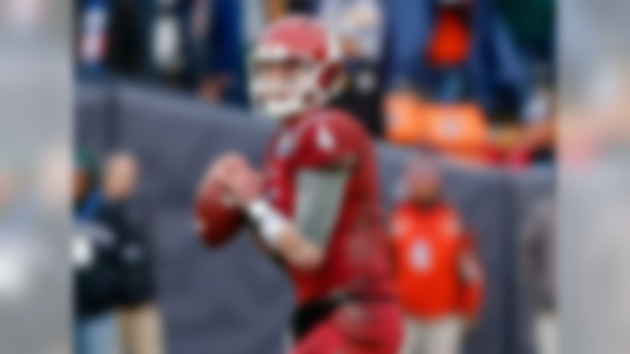 Several factors align for the Cougars' quarterback to have a huge year. He's entering his third year in coach Mike Leach's system, he has his top target returning in Gabe Marks, and most of all, he'll likely throw the ball more than any quarterback in the game. Last year, he was the only FBS QB with more than 600 attempts. What he'll need to stay in contention, however, is more team success. WSU had three losses before November last year, and Heisman candidacies take on water with each loss.