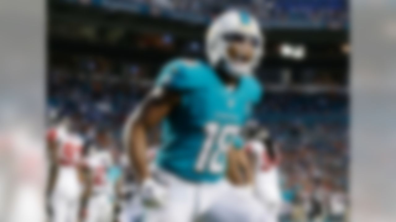 Matthews was a Deep Dive all-star for the last few weeks, as his early-season performance indicated that he was the leading candidate to be the No. 2 wideout in the Miami offense. Well, his six-catch, 113-yard, two-touchdown performance on Sunday cemented that notion. Matthews' 23 targets trail only Jarvis Landry on the team, and he appears to have the trust of Ryan Tannehill. While this offense isn't quite living up to the offseason hype, it could get better (we hope). Even if it doesn't, it appears Matthews has a nice role carved out and can be a WR3 when the right matchup presents itself.
