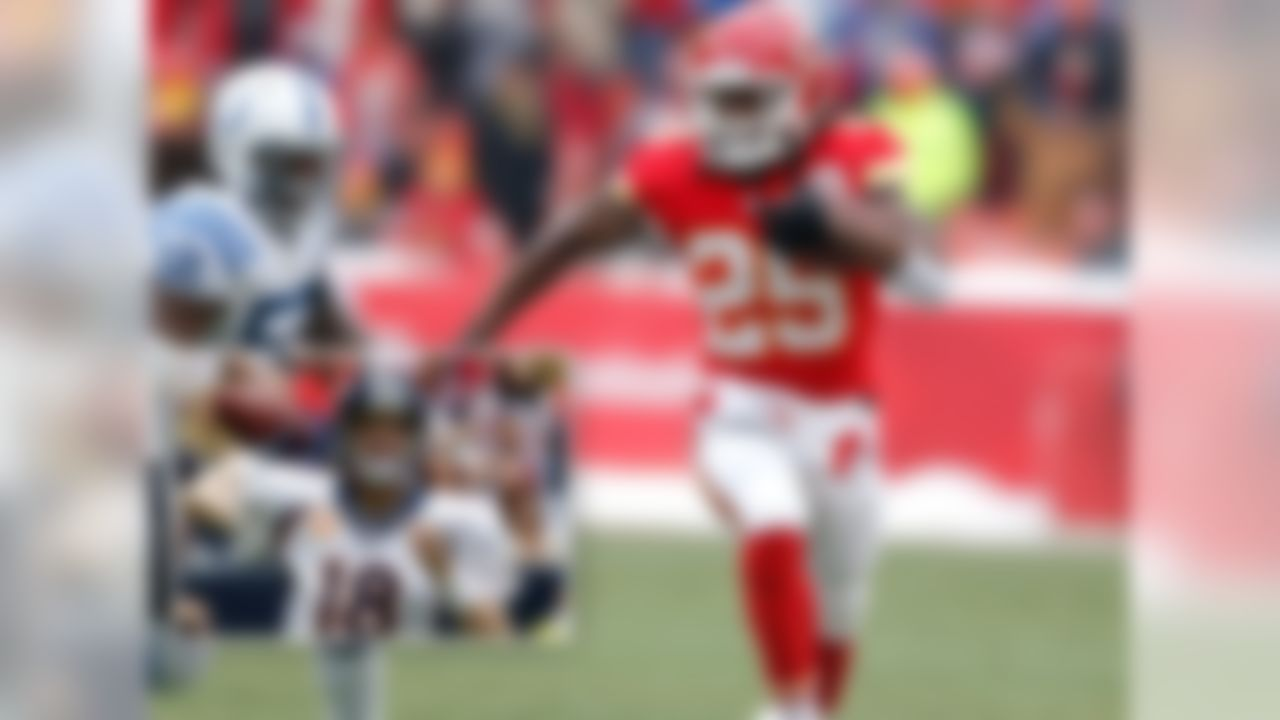 Jamaal Charles, RB, Kansas City Chiefs:  Almost 30 percent of NFL.com fantasy football championship teams fielded Charles, who led all running backs in fantasy points with an impressive 308.00 this season. The superstar runner out of Texas also averaged a ridiculous 33.2 fantasy points for owners during the course of the fantasy postseason (Weeks 14-16).   (Runner-up: Peyton Manning, QB, Denver Broncos)