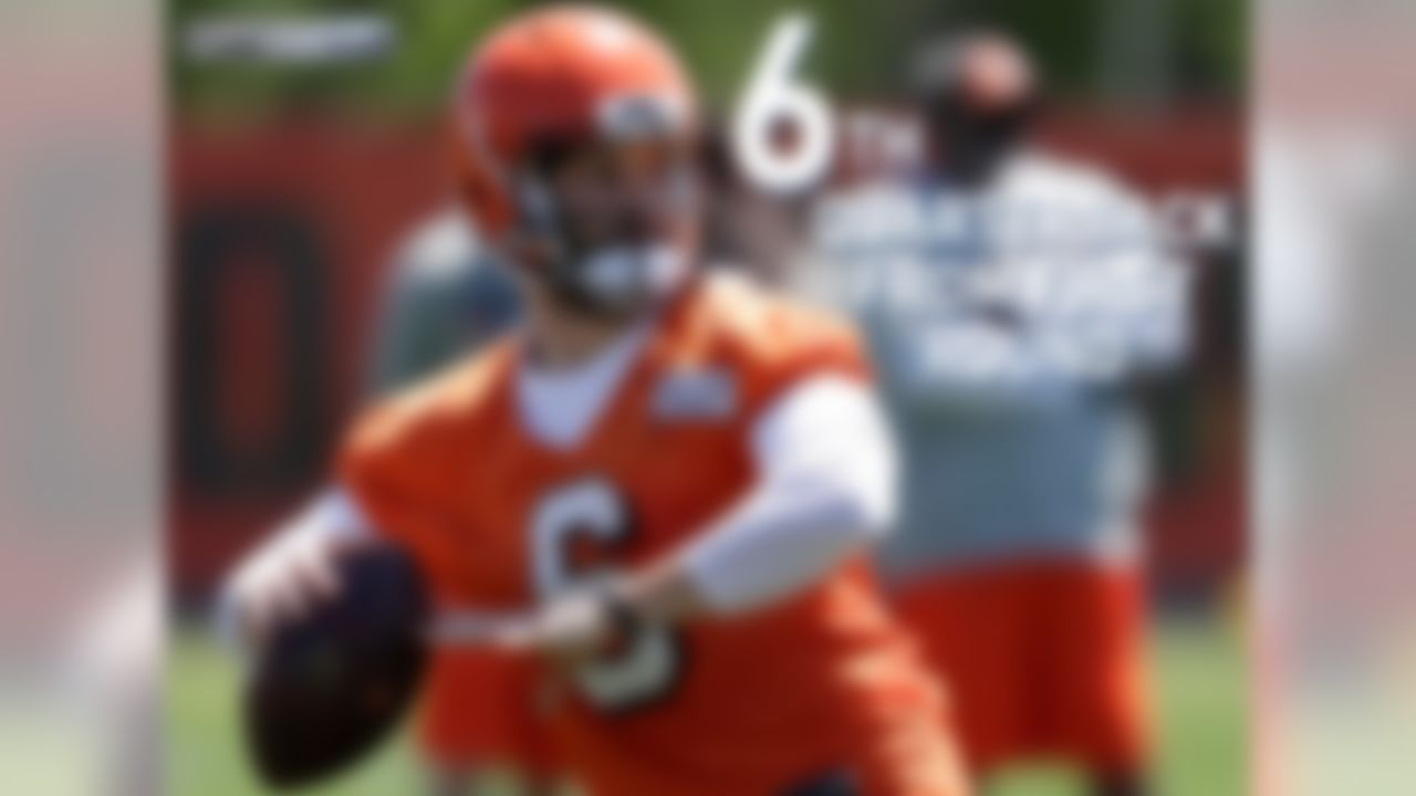 Baker Mayfield will be the sixth Browns quarterback drafted in the first round to attend training camp in franchise history. The previous five quarterbacks – Johnny Manziel, Brandon Weeden, Brady Quinn, Tim Couch and Mike Phipps – went 7-25 in their rookie seasons.