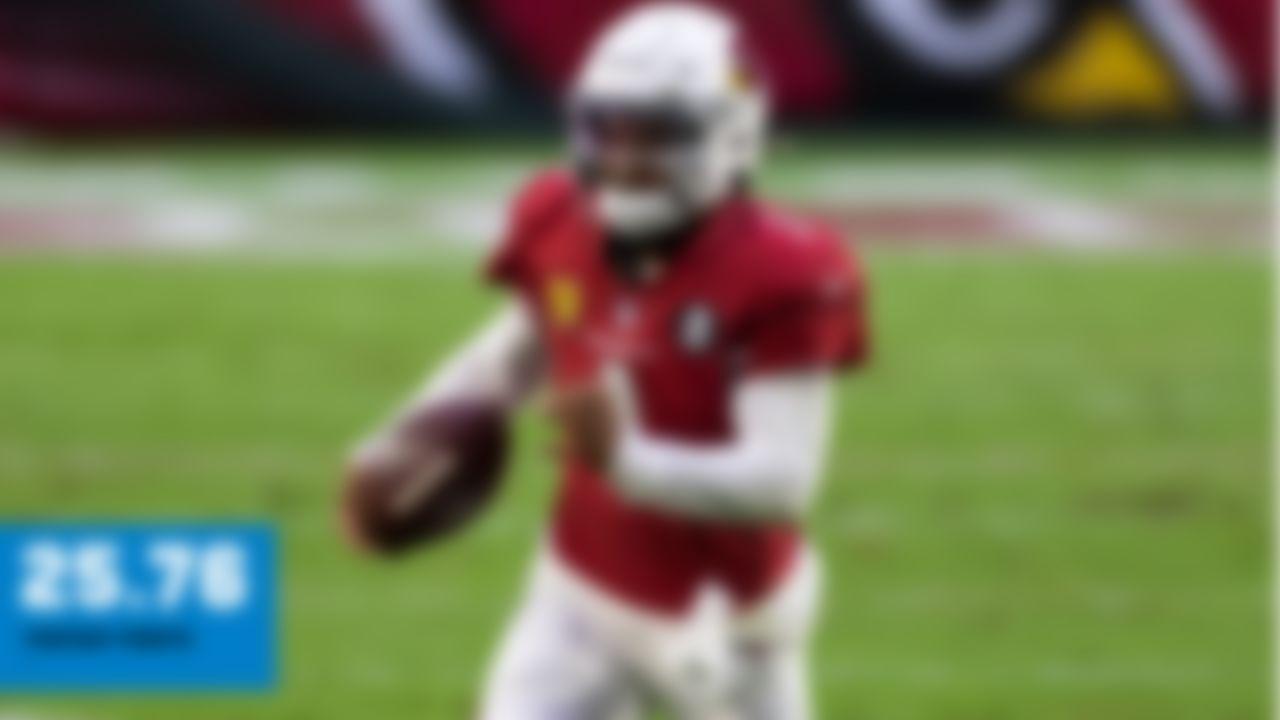 254 pass yards, 2 TD, INT; 36 rush yards, TD