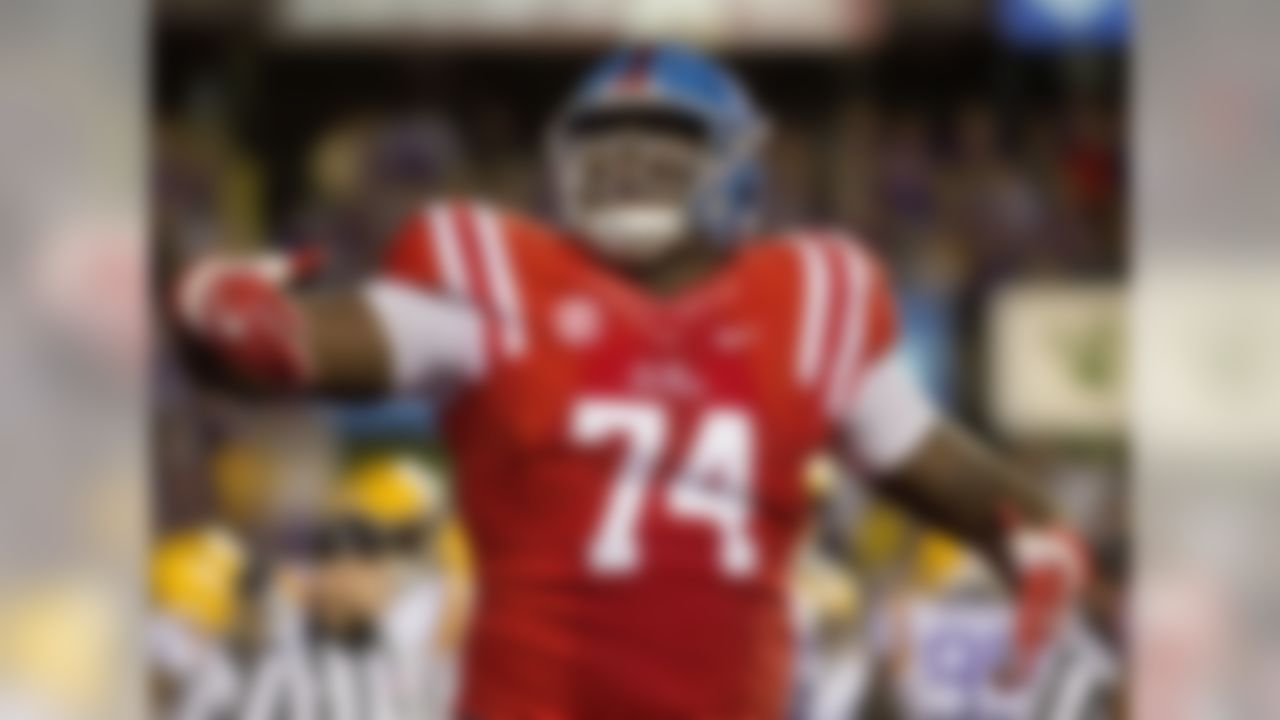 Little was one of the top-rated prospects coming out of high school in 2015 and started four games as a freshman at Ole Miss last season. He's big and long, but this season he is 20 pounds lighter than last season (320 down from 340) which should help him improve with his quickness against edge rushers. Little was a bit overmatched at times last season, but it wasn't difficult to see the physical traits and potential that should help him make a huge jump this season, especially at his lighter weight.