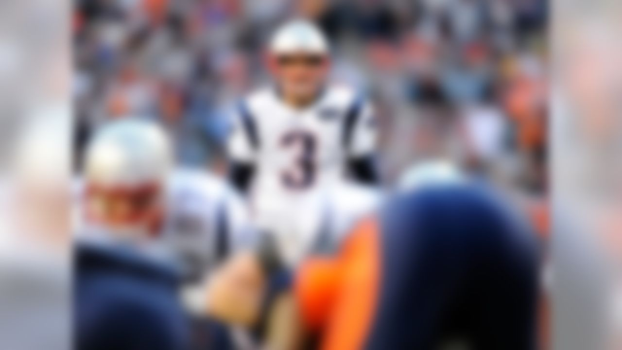 Drafted: Round 4 (No. 118 overall) in 2006 by the New England Patriots.  Team: Patriots, 2006-present.  Gostkowski, who led the NFL in points scored in each of the past four seasons, is the only player since the merger to lead the league in scoring in more than two consecutive seasons. The future Hall of Famer's career field-goal percentage of 87.3 ranks third all-time, and he's tied for fifth (with Justin Tucker) in field goals made in a single season (38, in 2013).
