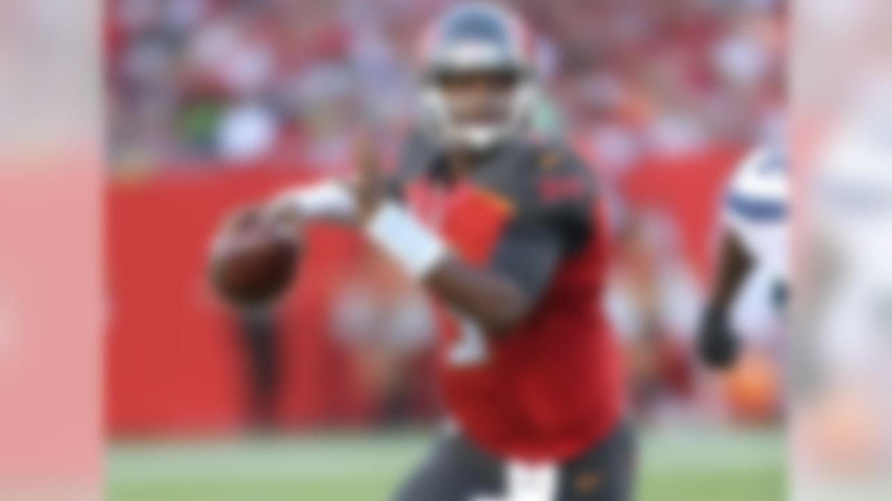 "Statistically, he is behind both Dak Prescott and Marcus Mariota. Yet Winston, the youngest of the three, is asked to do so much more on a football field in spite of that youth. He's already thrown nearly 300 more passes than Mariota, even though both came into the league the same year. (Of course, Mariota has missed some time due to injury -- but that's part of this equation, too.) Ultimately, Winston's lack of help -- juxtaposed with Mariota's luxury of leaning on a top-flight running game -- landed the Bucs QB a spot on this list. Asked one of our resident scouts here at NFL.com, Daniel Jeremiah, to rank them if he was starting an expansion team. ""1) Winston, 2) Prescott, 3) Mariota. Obviously, it's really close."" There you go."