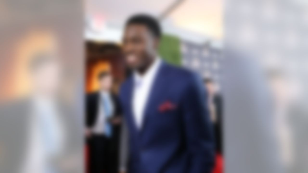 Cincinnati Bengals wide receiver A.J. Green arrives at the 3rd Annual NFL Honors awards show at Radio City Music Hall on Saturday, February 1, 2014 in New York, NY. (Ben Liebenberg/NFL)