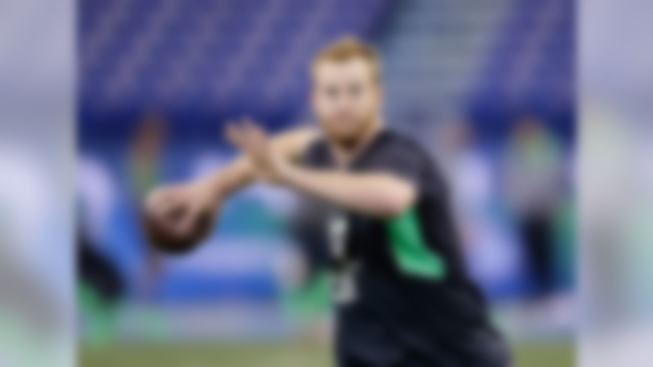 There isn't much else that needs to be said about Wentz. He has NFL size, arm strength and the intelligence to learn a pro system.  Sure, he only started for a year and a half, and there will be an adjustment to the NFL. But here's a dirty secret: it's an adjustment for all college players, no matter where they've lined up before. History tells us that either Jared Goff or Wentz will fail to meet expectations at the top of the draft, as the success rate for first-round quarterbacks is about 50 percent; Wentz is still worth the gamble. Potential fits: Cleveland, Philadelphia, San Francisco