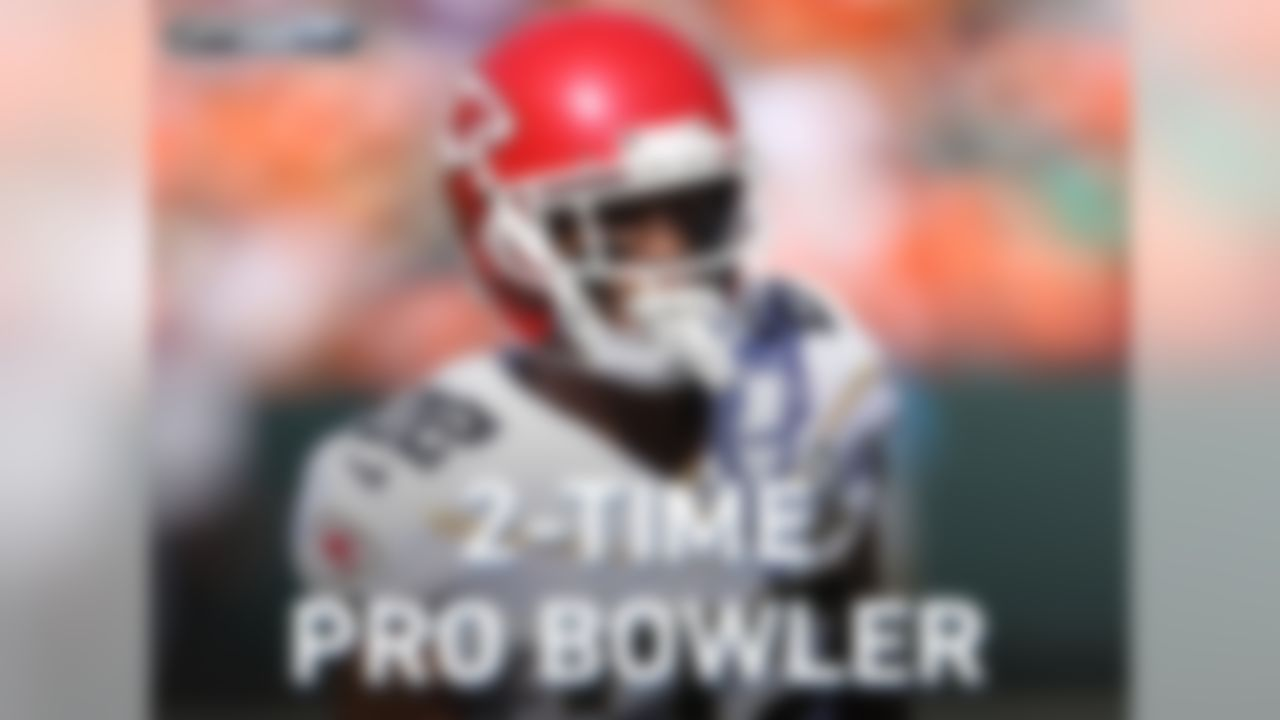 Kansas City Chiefs cornerback Marcus Peters is a 2-time Pro Bowler. He participated in the 2015 and 2016 Pro Bowl.