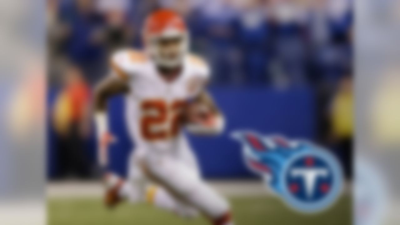 McCluster had been a wide receiver in his time with the Kansas City Chiefs, but new Titans coach Ken Whisenhunt sees him as more of a running back. In fact, it appears he's looking for McCluster to fill the pass-catching role that Danny Woodhead filled for Whisenhunt last season. That makes the Ole Miss product a viable option in PPR formats, but his value in standard leagues remains limited to the late rounds.
