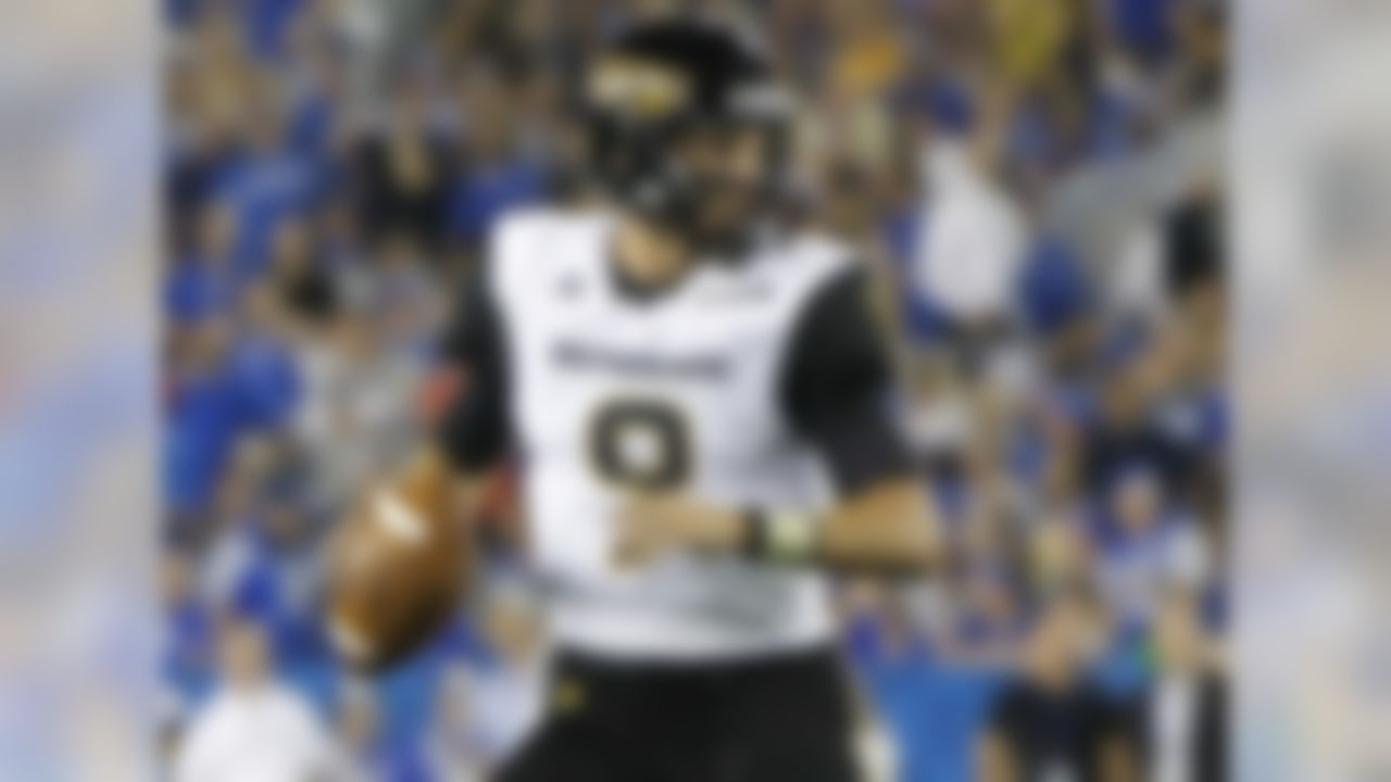 No one is going to mistake Mullens' arm for that of former Southern Miss passer Brett Favre. However, he's had a lot of success delivering balls from the pocket over the past couple of seasons. Mullens will read through his progressions, starting downfield and going to the check-downs if necessary. You can't teach that sort of patience and willingness to find receivers at all levels of the field. Some scouts will bemoan his average throwing velocity, but others might take his ability to play under fire as a sign of intriguing potential.