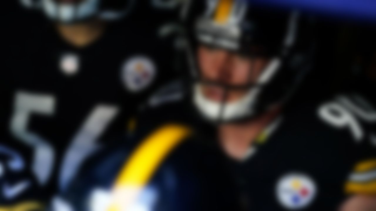 Pittsburgh Steelers outside linebacker T.J. Watt (90) on Sunday, November 8, 2020 in Arlington, Texas.