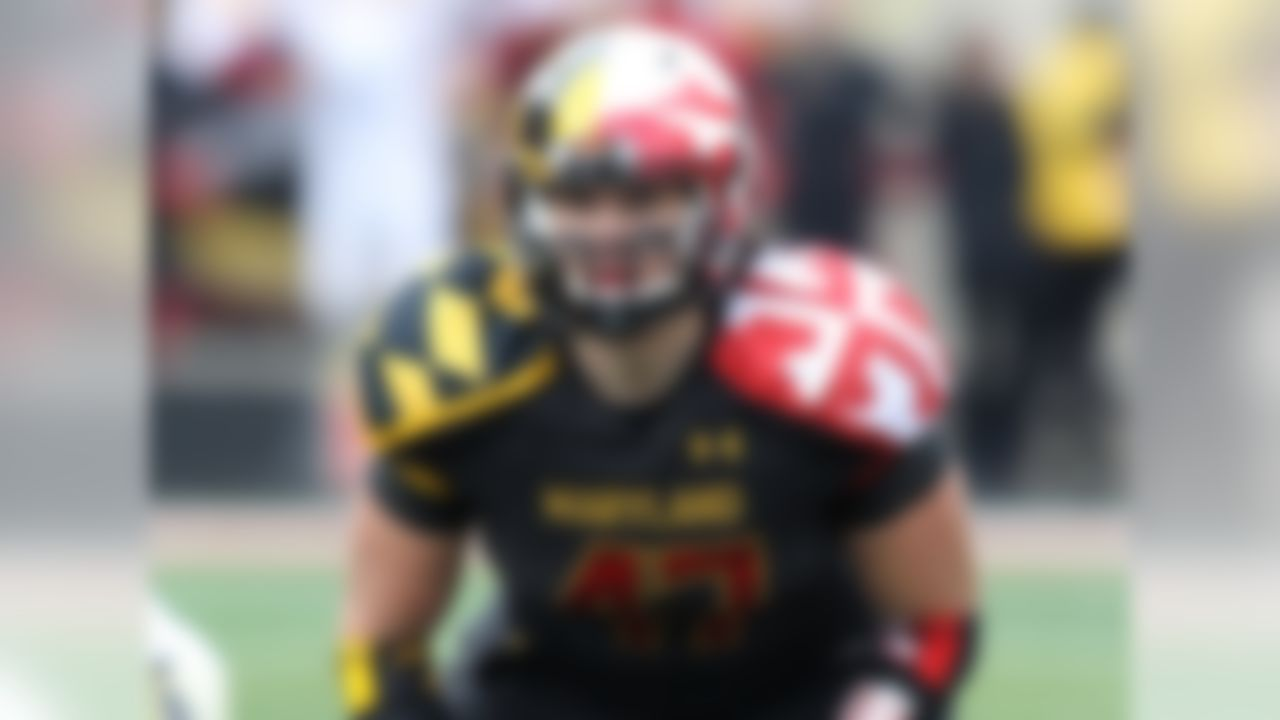 Particulars: 6-foot-3, 245 pounds, senior Buzz: The Terps will look to Farrand this fall to anchor a defense that struggled in conference play last year. The team moves into Big Ten play this fall, and as the middle linebacker, Farrand will meet the challenge as teams test the new kid in the neighborhood against the run. One of the team's vocal leaders, the senior made 84 tackles to finish second on the team. Also a two-time All-ACC Academic selection, Farrand sets an example whether on the field or not.