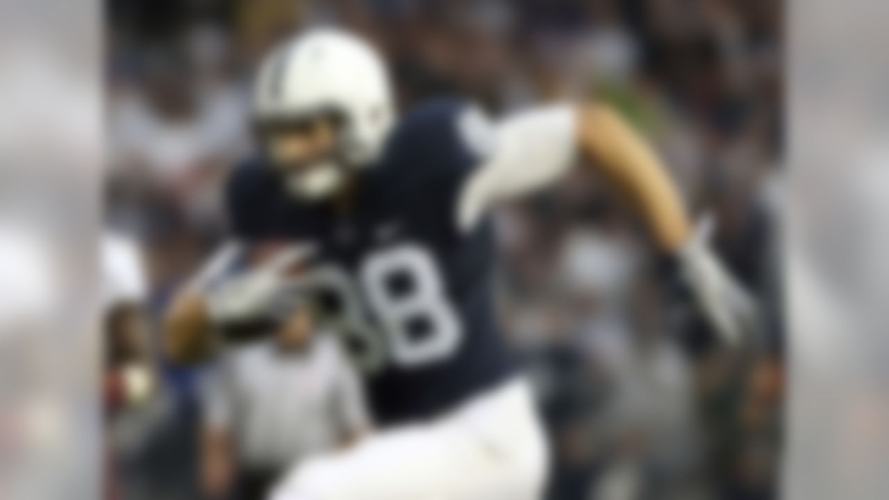 "Smooth in his release and can generate some vertical concern. Has the ability to sneak past linebackers with those open hips and long strides. Saw his drops go from 5 in 2015 to zero last season to go along with 48 catches. Gesicki has ""every day"" hands. If the throw is there, he's going to snare it. Gesicki shows an ability to make the necessary body corrections and adjustments when the ball is in the air. He's a very tough pass-catcher. He's not a great blocker but he does his part."
