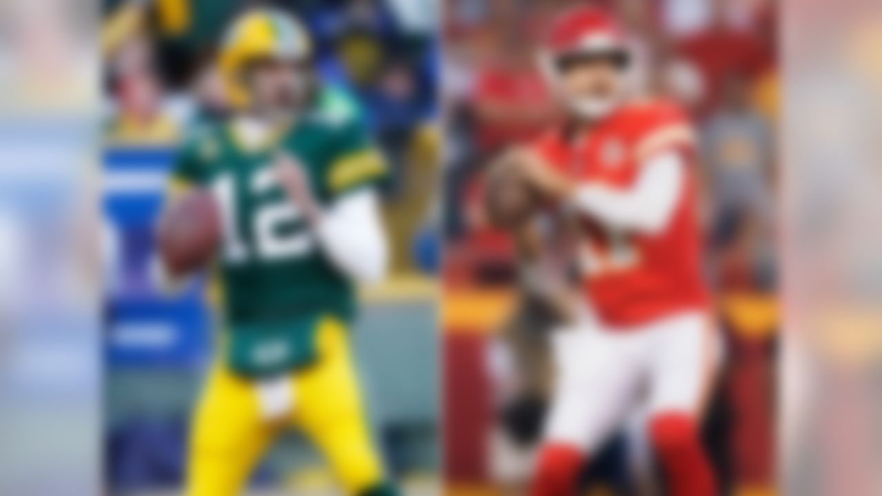"""Notables: Aaron Rodgers, Alex Smith, Ryan Fitzpatrick, Matt Cassel, Jason Campbell, Kyle Orton, Derek Anderson  Other than Rodgers, who became one of the best quarterbacks in league history after sliding to the 24th overall pick in 2005, there isn't a lot of """"wow"""" in this class. However, only two other classes have produced as many four-year starters as this one (six; 1971 had seven, 1987 also had six). Smith carried over the success he had late in his career with the Niners to Kansas City, becoming one of the more consistent starters in the league since 2011. Fitzpatrick's interceptions have been a bugaboo, but starting a majority of games in nine NFL seasons as a former seventh-round pick is a major accomplishment. He's now a backup for the Bucs. Campbell, Orton, and Anderson all flashed as starters -- Anderson is still kicking around the league as a reliable veteran backup for Cam Newton in Carolina."""