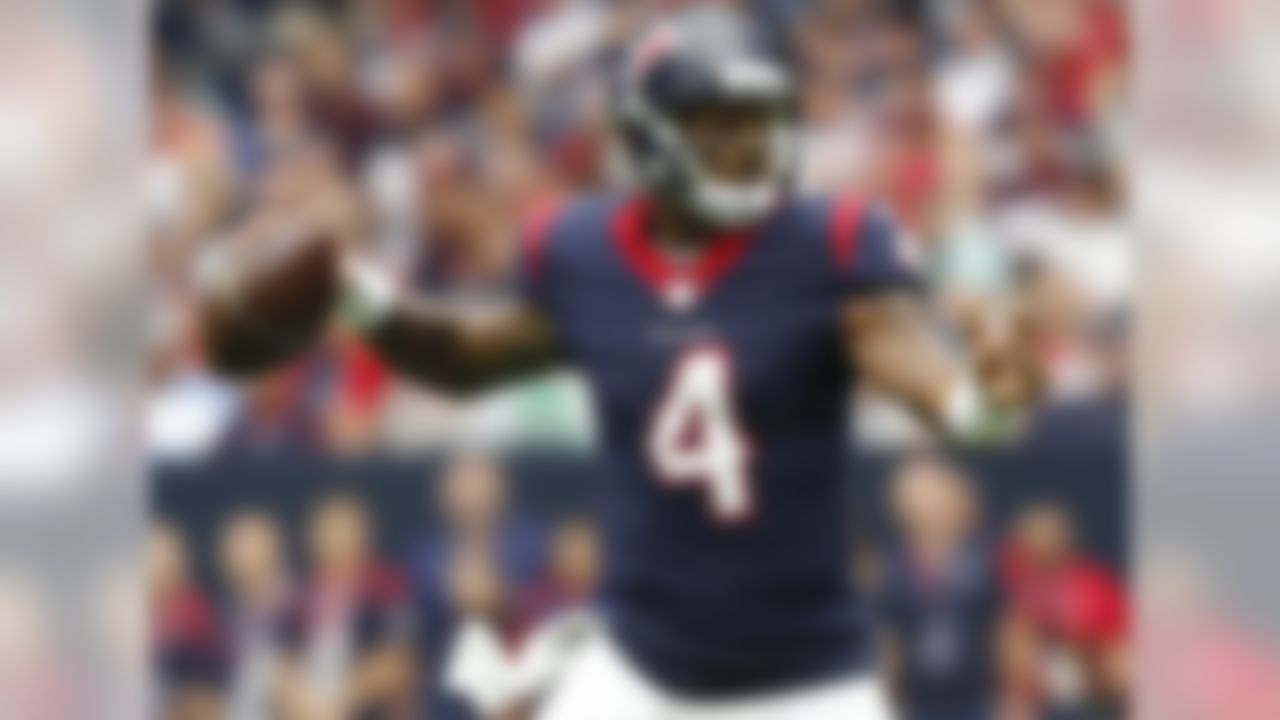 Draft position: Round 1, No. 12 overall.  In less than half a season, Watson showed the makings of a Pro Bowl-caliber quarterback who's capable of taking a team to the playoffs. I liked what I saw a lot, especially in his final appearance of 2017: that 402-yard, four-touchdown effort against Seattle in Week 7.