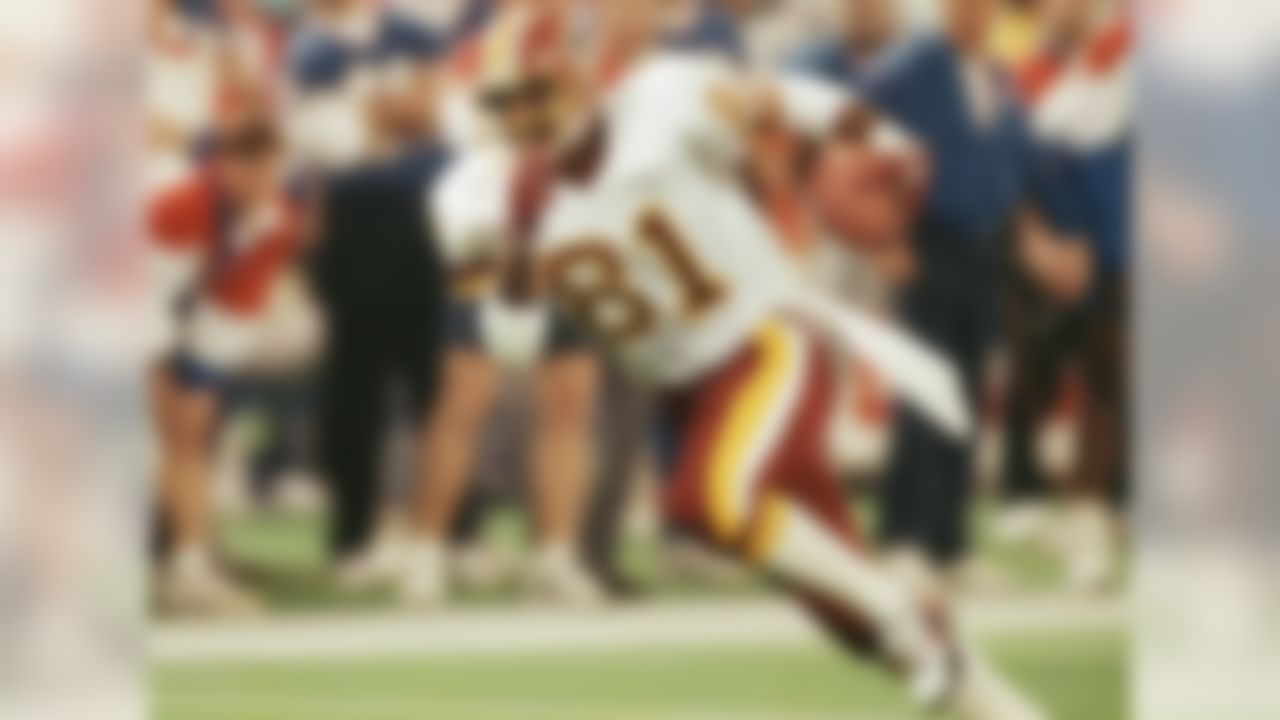 Washington Redskins 1980-1993, New York Jets 1994, Philadelphia Eagles 1995 » Three-time Super Bowl champion » Voted to three Pro Bowls, First Team All-Pro one time » Recorded 12,721 career receiving yards and scored 68 career receiving touchdowns » Enshrined into the Pro Football Hall of Fame