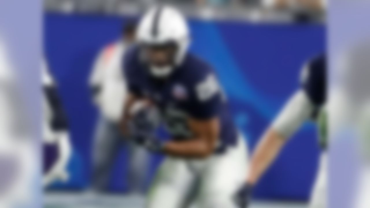 Widely deemed the best player in the 2018 NFL Draft, Barkley should make a massive impact both for the Giants and fantasy fans. He'll have the advantage of playing with Odell Beckham Jr., whose presence in the pass attack should keep stacked fronts to a minimum. The Penn State product is a three-down back with a complete skill set who will dominate the backfield work for Big Blue. Barkley is a cinch top-12 pick in drafts.