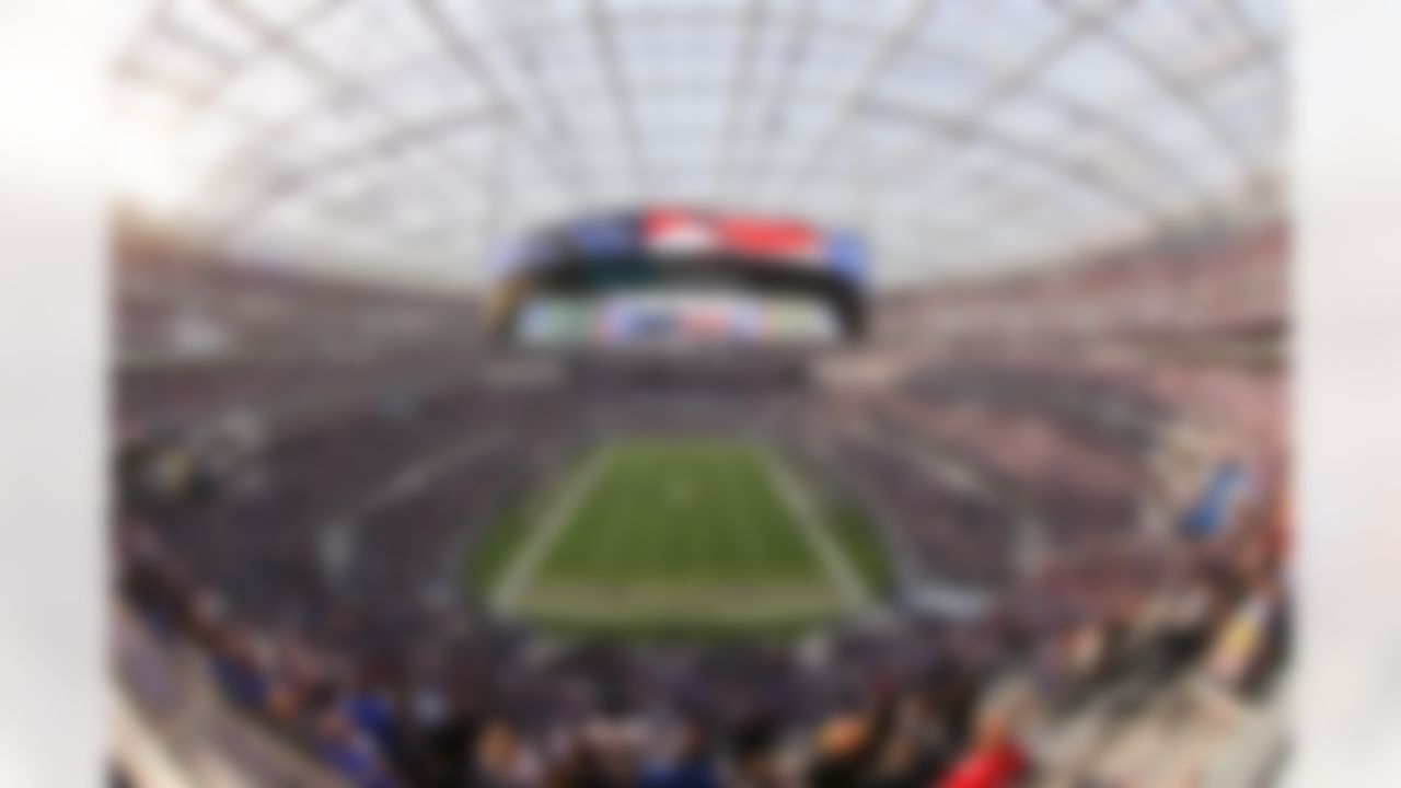 A general view of SoFi Stadium during an NFL football game between the Chicago Bears and the Los Angeles Rams on Sunday, September 12, 2021 in Inglewood, California.