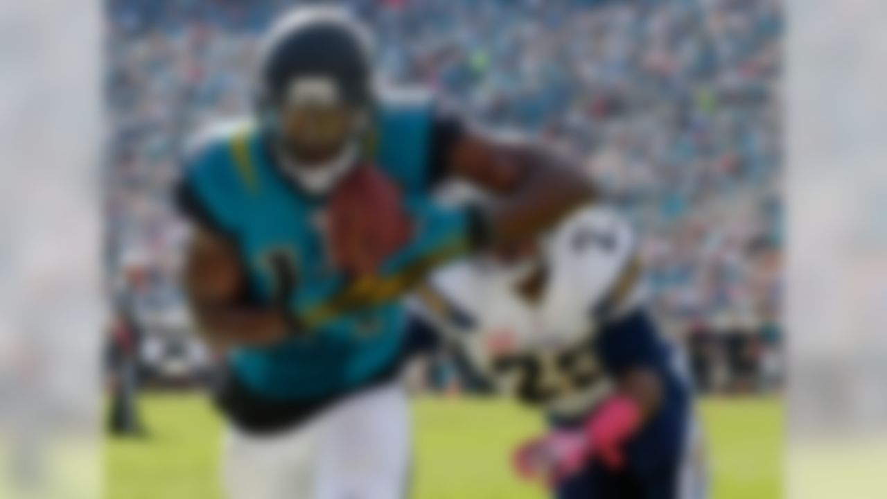 """Drafted: Fifth overall by the Jaguars in 2012.  Blackmon, whose latest incidence of off-the-field trouble was an arrest on a DUI charge last December, was suspended indefinitely by the NFL in 2013 and has not played since then, though he's still on Jacksonville's roster via the """"reserve/suspended"""" list. This was just a bad choice by Jacksonville, leading off the final draft class selected by the previous Jaguars regime. Blackmon was very productive at Oklahoma State, but he ran bad routes and lacked the speed to make a real impact in the NFL, even if his off-field isssues hadn't derailed his career."""