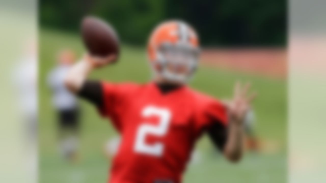 Manziel will be the most scrutinized rookie -- if not player -- in the NFL once camp kicks off. Every throw, decision and sideline interaction will be analyzed to death by both local and national media. I'm very interested to see how much he'll be able to improve his footwork. He made impressive strides while at Texas A&M, but he still has a few bad habits that need to be cleaned up; training camp is a great opportunity to do that. It could be the key to him beating out veteran Brian Hoyer for the Browns' starting gig. Draft position: Round 1, No. 22 overall.