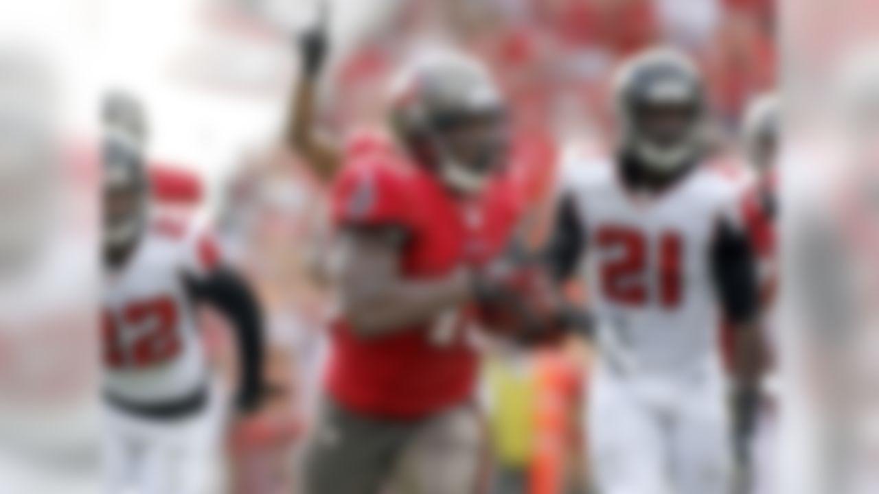 163 rushing yards, 2 TDs 4 receiving yards, 1 TD (34.70 fantasy points) (Reinhold Matay/Associated Press)