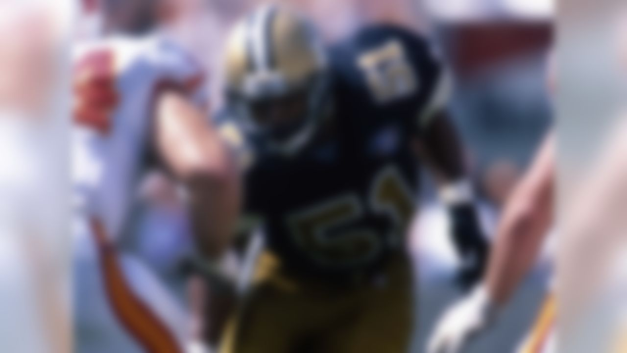 New Orleans Saints, 1986-1994; Carolina Panthers, 1995-1997 » Voted to five Pro Bowls, First Team All-Pro once » Recorded 1,142 career tackles