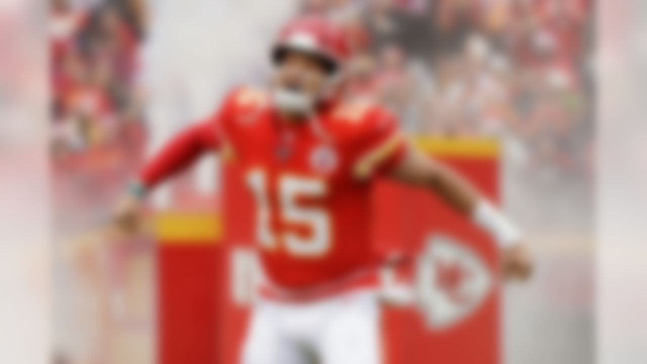 According to Forbes, Patrick Mahomes has the highest total value of a contract in sports history. His 10-year contract has a value of $503 million. The next closest contracts belong to boxer Floyd Mayweather, whose 2.5-year contract is worth $450 million, and MLB's Mike Trout, whose 12-year contract is worth $426.5 million.
